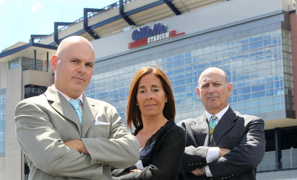 Private investigators such as John Nardizzi, Pamela Hay, and Jay Groob, left to right, have weighed in on how they might have kept an eye on Aaron Hernandez before his arrest.